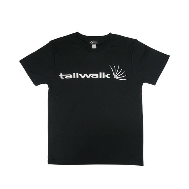 テイルウォーク(tail walk) ドライTシャツ L ブラック 13805