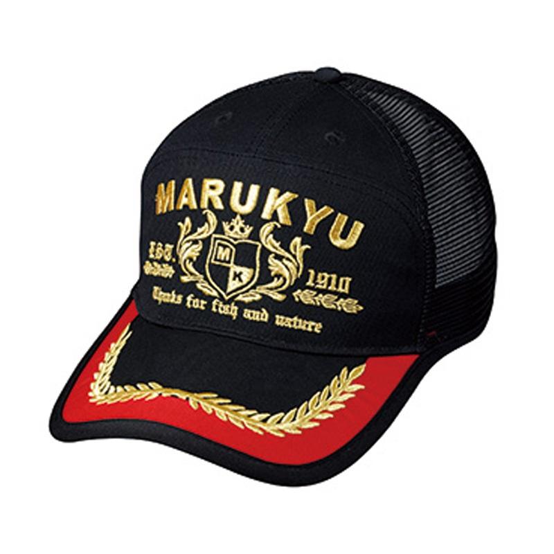 マルキュー(MARUKYU) マルキユーアポロキャップ01 フリー ブラック 16528
