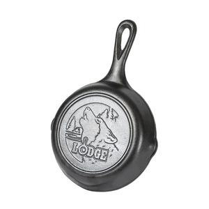 LODGE(ロッジ) スキレット6 1/2インチ Wolf L3SWLWF 19240249000065