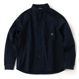 gym master(ジムマスター) ストレッチ ヘリンボーン シャツジャケット G333628 メンズ長袖シャツ