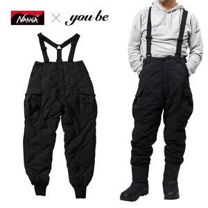 ナンガ(NANGA) 【 NANGA×you beコラボ企画】DOWN CARGO PANTS(ダウン カーゴ パンツ) NMNDZG1 フィッシングパンツ