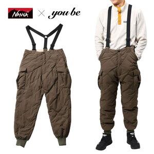 ナンガ(NANGA) 【 NANGA×you beコラボ企画】DOWN CARGO PANTS(ダウン カーゴ パンツ) NMNDK2G1