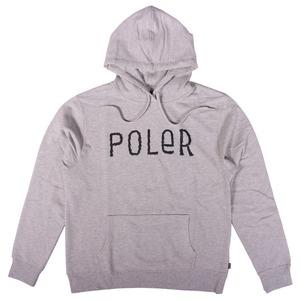 POLeR(ポーラー) FURRY FONT HOODIE 55200102-GRH