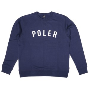 POLeR(ポーラー) IVY STATE APPLIQUE CREW 55200053-NVY