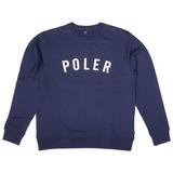 POLeR(ポーラー) IVY STATE APPLIQUE CREW 55200053-NVY メンズセーター&トレーナー