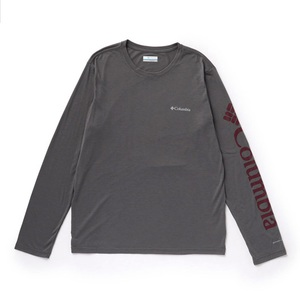 ミラー バレー ロング スリーブ グラフィック Tシャツ Men's M 023(CITY GREY×RED JASPER)