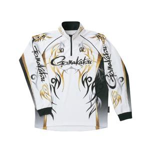 がまかつ(Gamakatsu) 2WAYプリントジップシャツ(長袖) GM-3531 53531-24-0 フィッシングシャツ