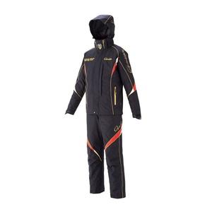 【送料無料】がまかつ(Gamakatsu) ゴアテックスオールウェザースーツ GM-3537 L ブラック 53537-13-0