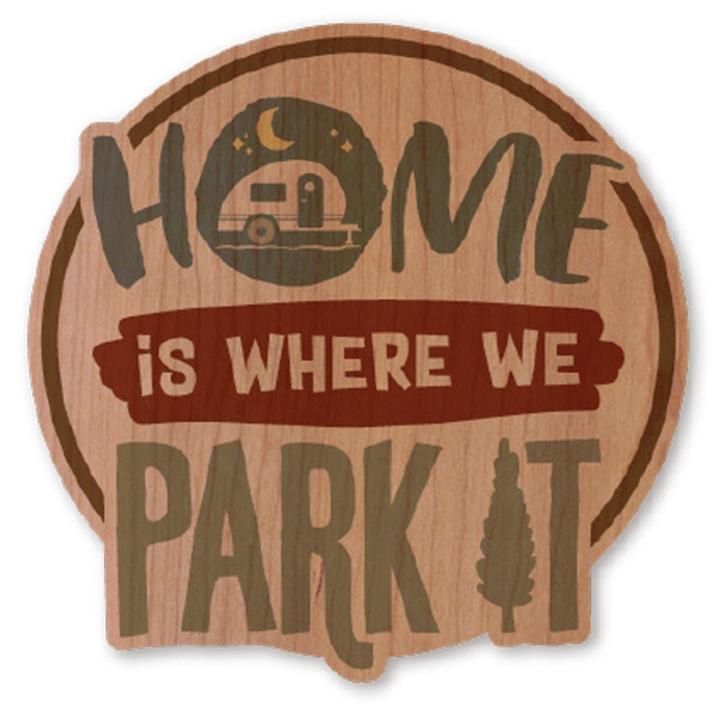 WOODSTICKER(ウッドステッカー) WOOD STICKER OUTDOOR ウッドステッカー アウトドア HOME IB-DS-WDS-4943