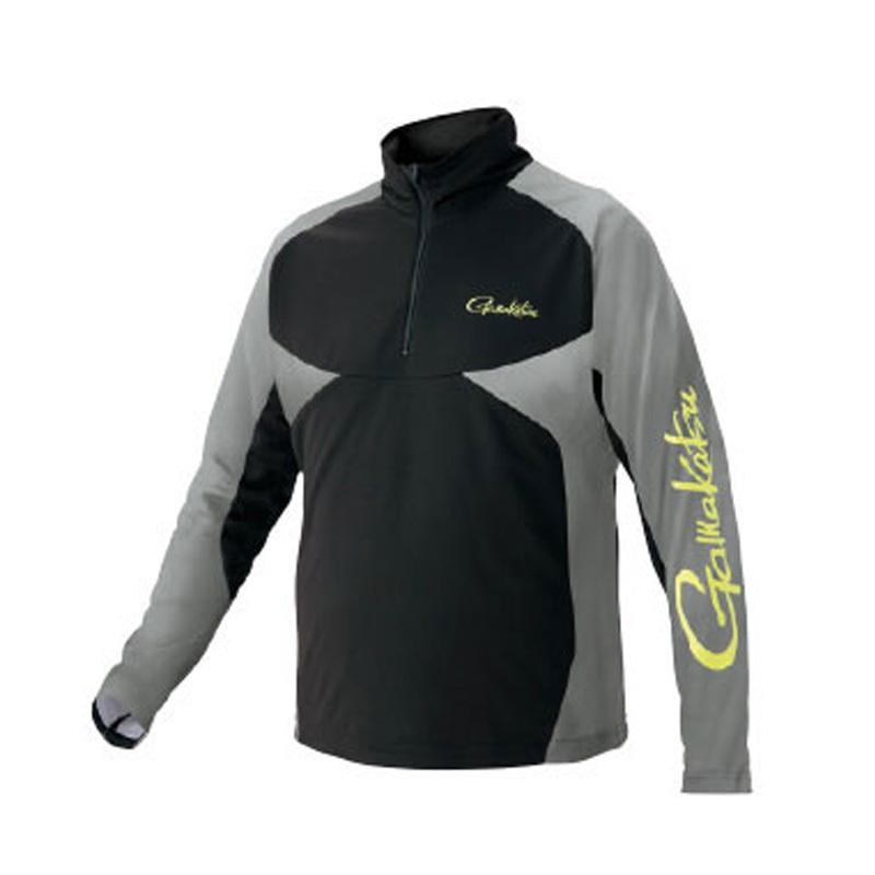 がまかつ(Gamakatsu) NO FLY ZONE(R)ジップシャツ GM-3550 S ブラック 53550-11-0