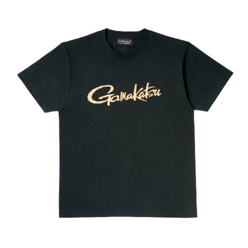 がまかつ(Gamakatsu) Tシャツ(筆記体ロゴ) GM-3576 L ブラック 53576-13-0