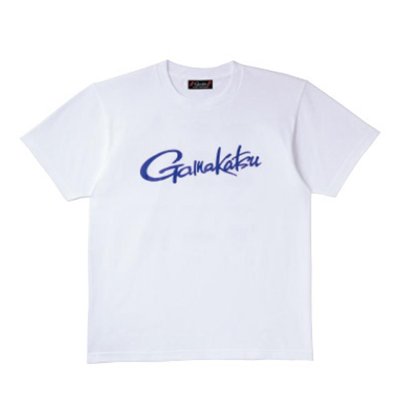 がまかつ(Gamakatsu) Tシャツ(筆記体ロゴ) GM-3576 L ホワイト 53576-23-0
