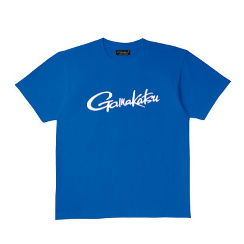 がまかつ(Gamakatsu) Tシャツ(筆記体ロゴ) GM-3576 S ブルー 53576-31-0