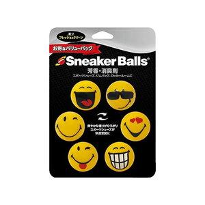 スニーカーボール(Sneaker Balls) ハッピーフィート 消臭 6個入り DDT00108
