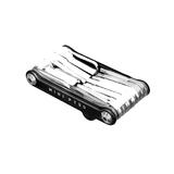 TOPEAK(トピーク) ミニ P30 TOL44900 携帯型マルチツール