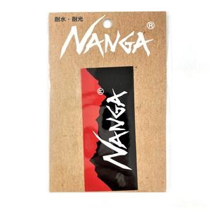 ナンガ(NANGA) ステッカー N1StBKE1