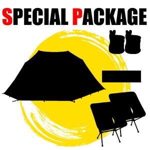 ナチュラム カンガルースタイル向け大型シェルター+キャンプ関連小物5種【お買い得(秘)パッケージ】