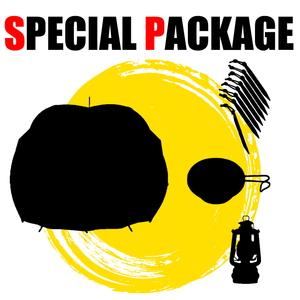 ナチュラム 球型テント+キャンプ関連小物3種【お買い得(秘)パッケージ】