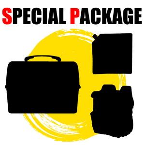 ナチュラム バック型ソフトクーラー+ランチボックス(ネイビー)+キャンプ関連小物1種【お買い得(秘)パッケージ】