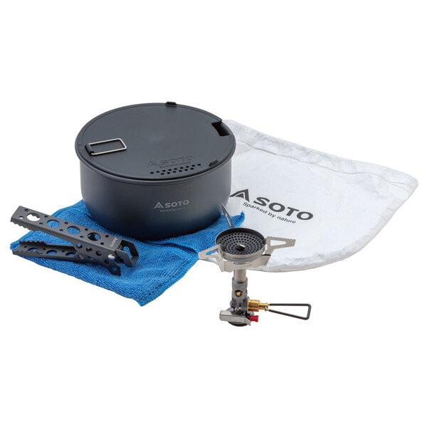 SOTO ウインドマスタークッカーコンボ SOD-310CC ガス式