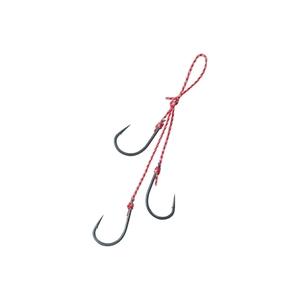 がまかつ(Gamakatsu) 糸付サーベルポイント フッキングマスター 3本鈎 F132 60120-0.5-8