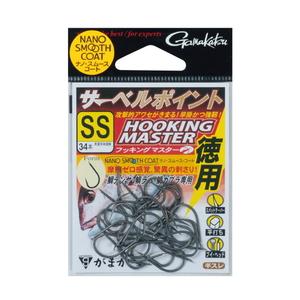 がまかつ(Gamakatsu) バラ 徳用 サーベルポイント フッキングマスター 68531-0.5-0 シングルフック