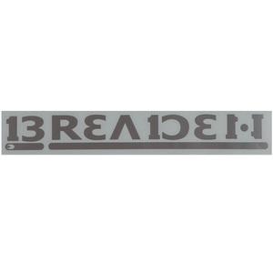 ブリーデン(BREADEN) ディカール BREADEN 120W #03 シルバー 5026