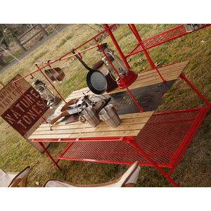 ネイチャートーンズ(NATURE TONES) ダイニングテーブル ミドル オプションハンガー(ハンガーのみ) DTMH-R
