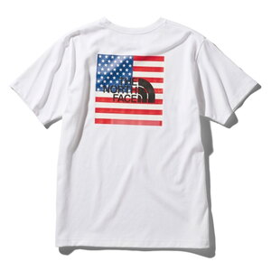 THE NORTH FACE(ザ・ノースフェイス) S/S NATIONAL FLAG TEE L W NT32053