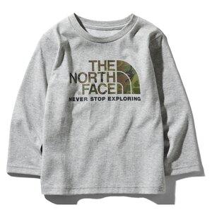THE NORTH FACE(ザ・ノースフェイス) L/S CAMO LOGO TEE(ログスリーブ カモ ロゴ Tシャツ キッズ) Kid's NTJ81824