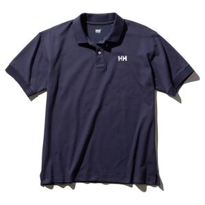 HELLY HANSEN(ヘリーハンセン) 【21春夏】M S/S HH Logo Polo(ショートスリーブ HH ロゴ ポロ)メンズ HH32002