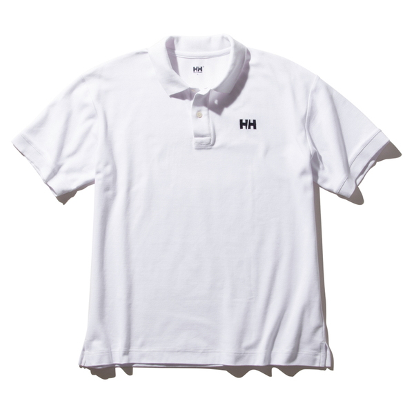 HELLY HANSEN(ヘリーハンセン) S/S HH Logo Polo(ショートスリーブ HH ロゴ ポロ)Men's HH32002 メンズ速乾性半袖シャツ