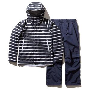 HELLY HANSEN(ヘリーハンセン) Border Helly Rain Suit(ボーダー ヘリー レイン スーツ)Men's HOE12001