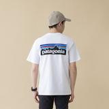 パタゴニア(patagonia) 【21春夏】メンズ P-6 ロゴ レスポンシビリティー 38504 メンズ半袖Tシャツ