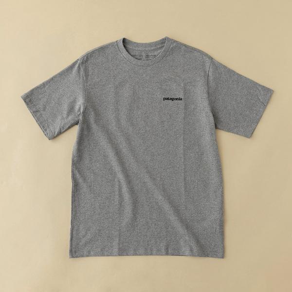 パタゴニア(patagonia) M's P-6 Logo Responsibili-Tee(P-6 ロゴ レスポンシビリティー) 38504 メンズ半袖Tシャツ