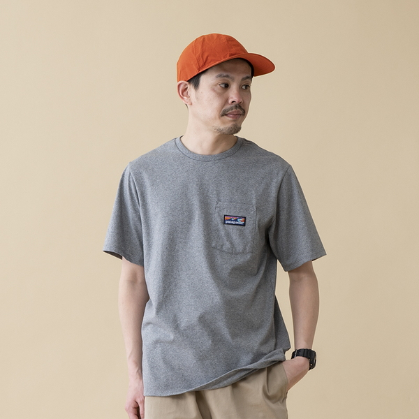 パタゴニア(patagonia) メンズ ボードショーツ ラベル ポケット レスポンシビリティー 38510 メンズ半袖Tシャツ