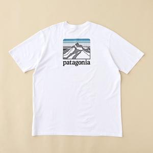 パタゴニア(patagonia) メンズ ライン ロゴ リッジ ポケット レスポンシビリティー 38511 メンズ半袖Tシャツ