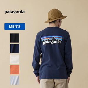 パタゴニア(patagonia) メンズ ロングスリーブ P-6 ロゴ レスポンシビリティー 38518