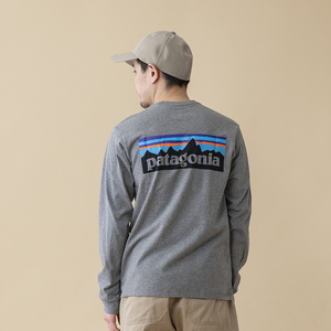パタゴニア(patagonia) 【21秋冬】メンズ ロングスリーブ P-6ロゴ レスポンシビリティー 38518