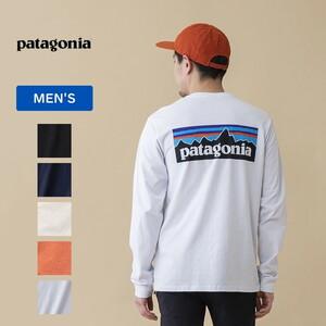 パタゴニア(patagonia) 【21春夏】メンズ ロングスリーブ P-6 ロゴ レスポンシビリティー 38518 メンズ長袖Tシャツ