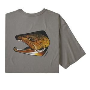 パタゴニア(patagonia) メンズ フィッシュ ノギンズ オーガニック Tシャツ 38523