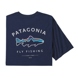 パタゴニア(patagonia) メンズ フレームド フィッツ ロイ トラウト オーガニック Tシャツ 38529