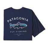 パタゴニア(patagonia) 【21春夏】メンズ フレームド フィッツ ロイ トラウト オーガニック Tシャツ 38529 メンズ半袖Tシャツ