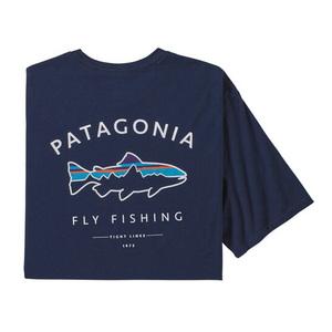 パタゴニア(patagonia) 【21春夏】メンズ フレームド フィッツ ロイ トラウト オーガニック Tシャツ 38529