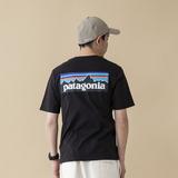 パタゴニア(patagonia) 【21春夏】メンズ P-6 ロゴ オーガニック Tシャツ 38535 メンズ半袖Tシャツ