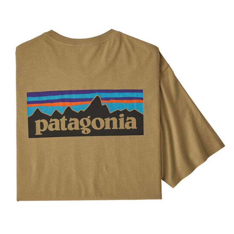 M's P-6Logo Organic T-Shirt(メンズ P-6ロゴ オーガニック Tシャツ)