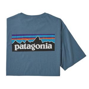 パタゴニア(patagonia) 【21春夏】メンズ P-6 ロゴ オーガニック Tシャツ 38535