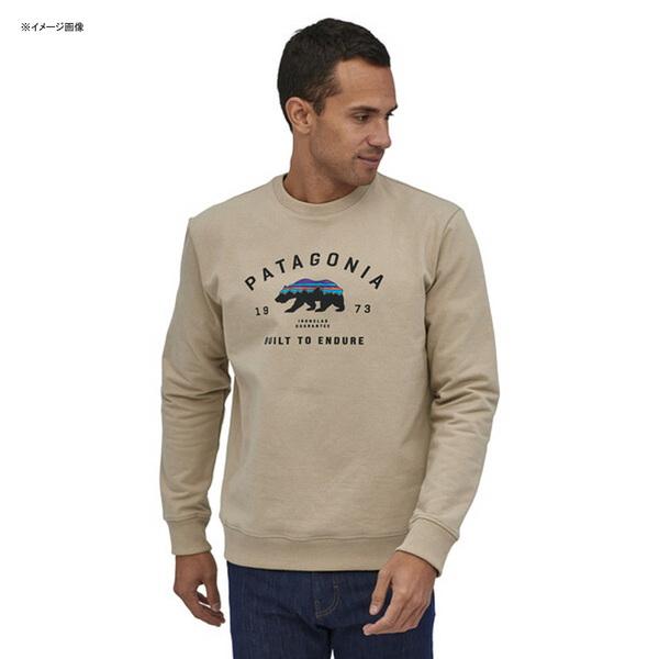 パタゴニア(patagonia) メンズ アーチド フィッツ ロイ ベア アップライザル クルー スウェットシャツ 39544 メンズセーター&トレーナー