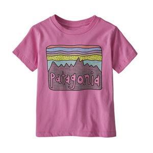 パタゴニア(patagonia) ベビー フィッツロイ スカイズ オーガニック Tシャツ 60419 半袖(ジュニア・キッズ・ベビー)