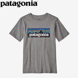 パタゴニア(patagonia) Boy's P-6 Logo Organic T(ボーイズ P-6ロゴ オーガニック Tシャツ) 62153 半袖(ジュニア・キッズ・ベビー)